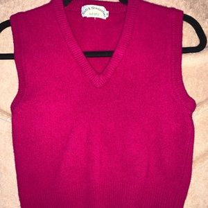 Super cute pink vintage inspired vest